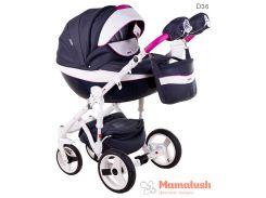 Детская коляска Adamex Monte Deluxe Carbon 2 в 1 D36