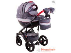 Детская коляска Adamex Monte Deluxe Carbon 2 в 1 D5