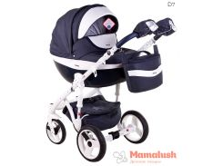 Детская коляска Adamex Monte Deluxe Carbon 2 в 1 D7