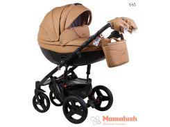 Детская коляска Adamex Monte Deluxe Carbon 2 в 1 56S