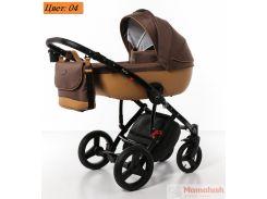 Детская коляска 2 в 1 Broco Porto 04 коричневая