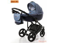 Детская коляска 2 в 1 Broco Porto 05 синий