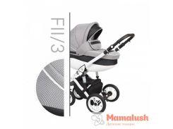 Детская коляска 2 в 1 Baby Merc Faster Style 2 Детская коляска 2 в 1, FII/3, Серый