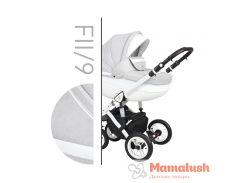 Детская коляска 2 в 1 Baby Merc Faster Style 2 Детская коляска 2 в 1, FII/9, Белый