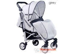 Прогулочная коляска CARETERO SONATA grey grey