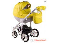 Детская коляска Adamex Monte Deluxe Carbon 2 в 1 39S