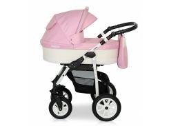 Деткая коляска 2 в 1 Верди Лазер 02 розовая