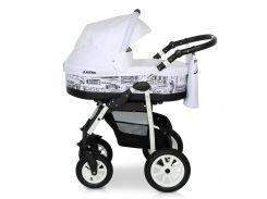 Деткая коляска 2 в 1 Верди Лазер 03 белая