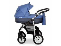 Деткая коляска 2 в 1 Верди Лазер 13 синяя