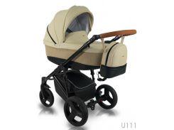 детская коляска bexa 2 в 1 ultra u111 бежевый