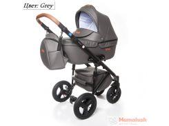 Детская коляска 2 в 1 Broco Capri Grey