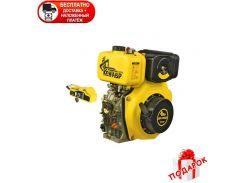 Дизельный двигатель Кентавр ДВЗ-300ДЕ + бесплатная доставка и дрель  Vitals-Master Um1045HL в подарок