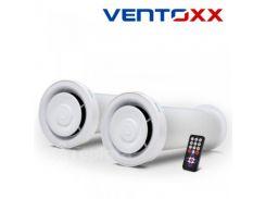 2 Ventoxx Champion c пультом ДУ - Система вентиляции с рекуператором