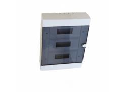 Бокс пластиковый модульный для наружной установки на 36 модулей, Electro House EH-BM-010