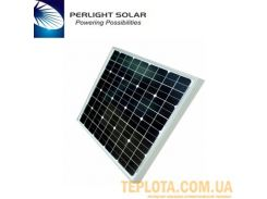 Солнечная батарея Perlight Solar 50 Вт 12 В, монокристаллическая (Grade A PLM-050M-36)