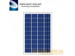Солнечная батарея Perlight Solar 100 Вт 12 В, поликристаллическая (Grade A PLM-100P-36)