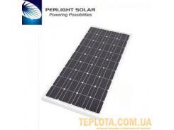 Солнечная батарея Perlight Solar 100 Вт 12 В, монокристаллическая (Grade A PLM-100M-36)