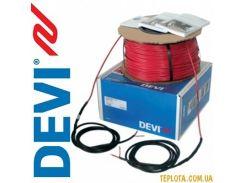 Нагревательный кабель одножильный DEVIbasic 20S (DSIG-20) на 400V, 1100 Вт, 56 м. (Код: 140F0229), (Дания)