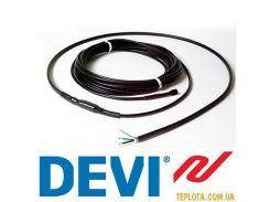 Нагревательный кабель двухжильный DEVIsafe 20T 1200W 230V 60m (Код: 140F1280) (Дания)
