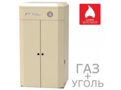 Универсальный Газ+Уголь АТЕМ Житомир-9 КС-ГВ-012 СН / АОТВ-12 (двухконтурный)