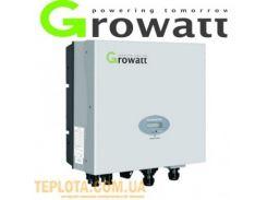 Инвертор напряжения сетевой GROWATT 5000 (5кВт, 1-фазный, 1 МРРТ)