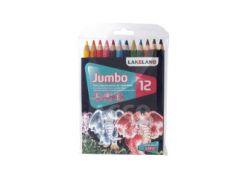 Карандаши цветные 12цв. Derwent Lakeland Jumbo D-33326