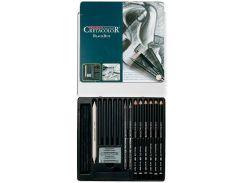 Карандаши простые CRETACOLOR набор 20предм в метал кор Black Box 40030