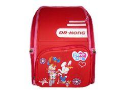 Рюкзак (ранец) школьный каркасный Dr.Kong BS005 мягкая спинка