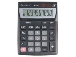 Калькулятор OPTIMA 10 разрядов 137*103*32мм 75507