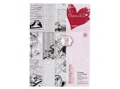 Набор бумаги для скрапбукинга Bookprint А5 160г 32л Docrafts PMА160117