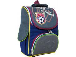 Рюкзак (ранец) школьный каркасный 1 Вересня 551948 Футбол 2532 25*34*12см
