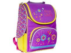 Рюкзак (ранец) школьный каркасный 1 Вересня 551936 Маленькая леди 2532 25*34*12см
