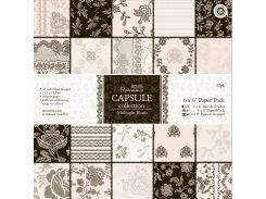 Набор бумаги для скрапбукинга Midnight Blush 15,2*15,2 160г 32л Docrafts PMА160225