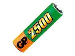 Аккумуляторная батарейка АА (пальчиковая) GP 1шт R06 2500mA 250AAHC-U2