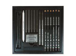 Карандаши простые CRETACOLOR набор 20предм в дер. кор. Black Box 46040