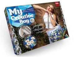 Набор для творчества DankoToys DT MCB-01-05 Сумка вышитая лентами и бисером My Creative Bag