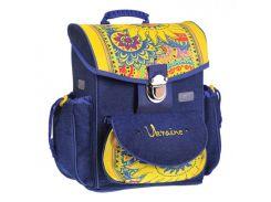 Рюкзак (ранец) школьный каркасный ZiBi ZB15.0114UKR Solar Ukraine