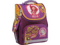 Рюкзак (ранец) школьный каркасный Kite мод 501-1 Mia