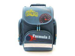 Рюкзак (ранец) школьный каркасный TIGER FAMILY 3901-S Formula1