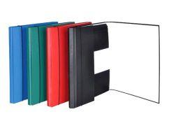 Папка А4 с резинкой картон Donau 2076001PL_Красный