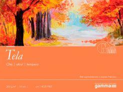Альбом для акрила и масла Fabriano (Gamma) 34*48 см 10л. 300г/м2 Tela TE3003448K10