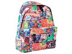 Рюкзак (ранец) школьный 1 Вересня Yes 553965 Crazy 07 ST-15 31*41*14см