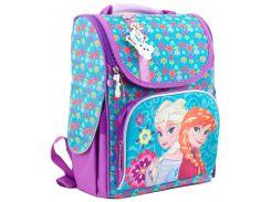 Рюкзак (ранец) школьный каркасный 1 Вересня 553273 Frozen purple H-11 34*26*14см