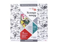 Бумага для скрапбукинга Rosa Talent набор 16л 30,5*30,5см Recipe book двусторонняя 200 г/м 5312007