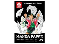 Альбом для рисования А5 20л. 250г/м2 Sakura Manga 99MANPADA5