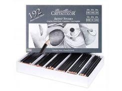 Набор графитовых карандашей CRETACOLOR Artist Studio 192шт для школьн.классов 90514099