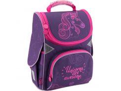Рюкзак (ранец) школьный каркасный GoPack мод 5001 GO18-5001S-7