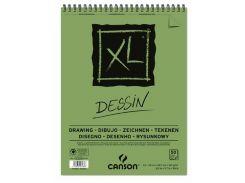 Альбом спираль А4 для графики Canson XL 160г/м 50л. CON-200777128R