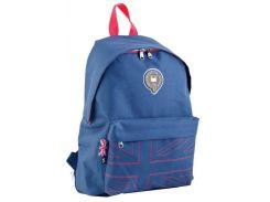 Рюкзак (ранец) школьный 1 Вересня Yes 553470 Dark Blue OX-15 42*29*11см