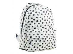 Рюкзак (ранец) школьный 1 Вересня Yes 554968 Black dots ST-28 34*24*13,5см
